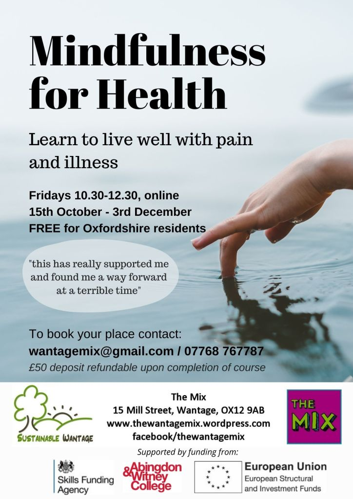 Mindfulness for Health course